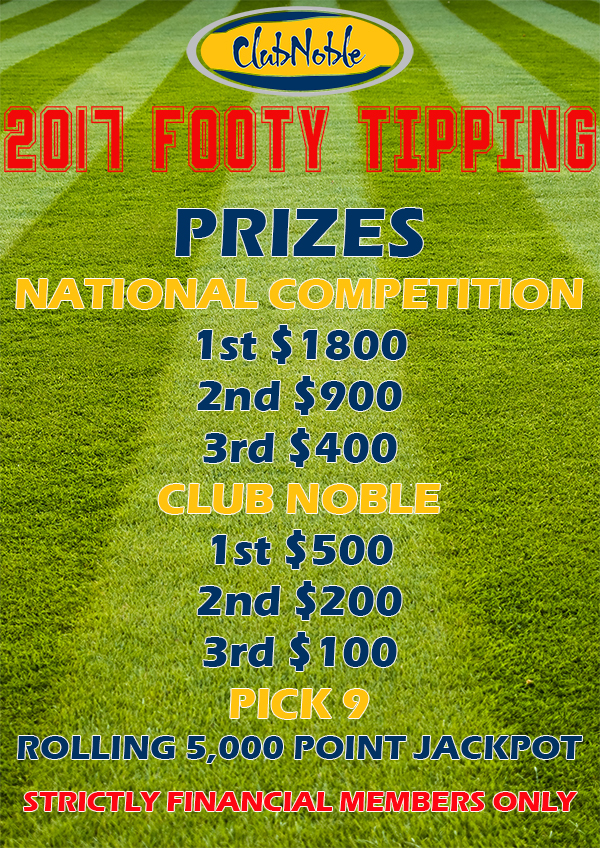 A3 Footy Tipping Prizes 2017 600wide