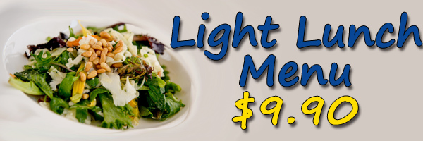 LIGHT LUNCH BANNER