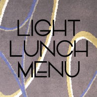 LIGHT LUNCH Menu