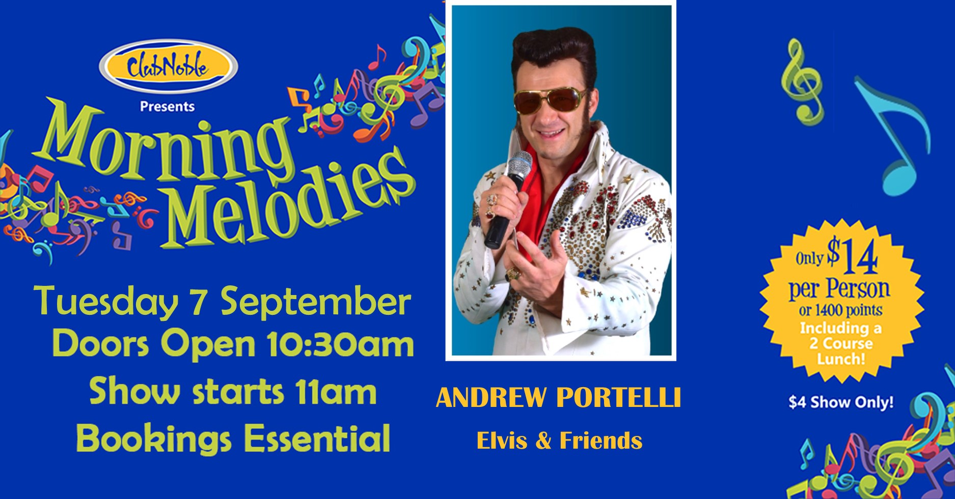 Morning Melodies with Andrew Portelli